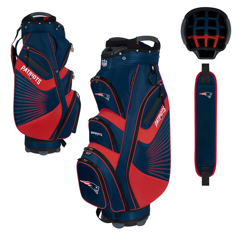 NFL New England Patriots Bucket II Cooler Cart Bag