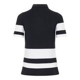 Alternate View 6 of Natasha Short Sleeved Colorblock Polo Shirt
