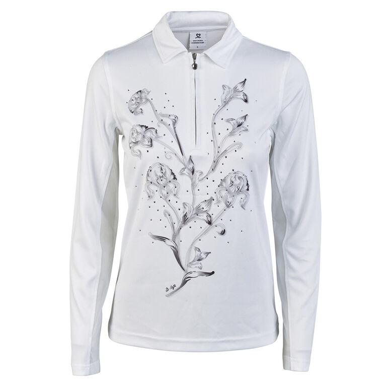 Daily Sports Long Sleeve Karelia Floral Polo