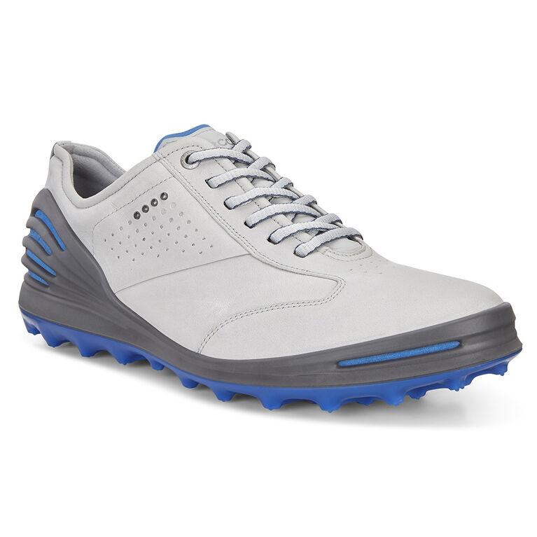 ECCO Cage Pro Men's Golf Shoe - Grey/Blue