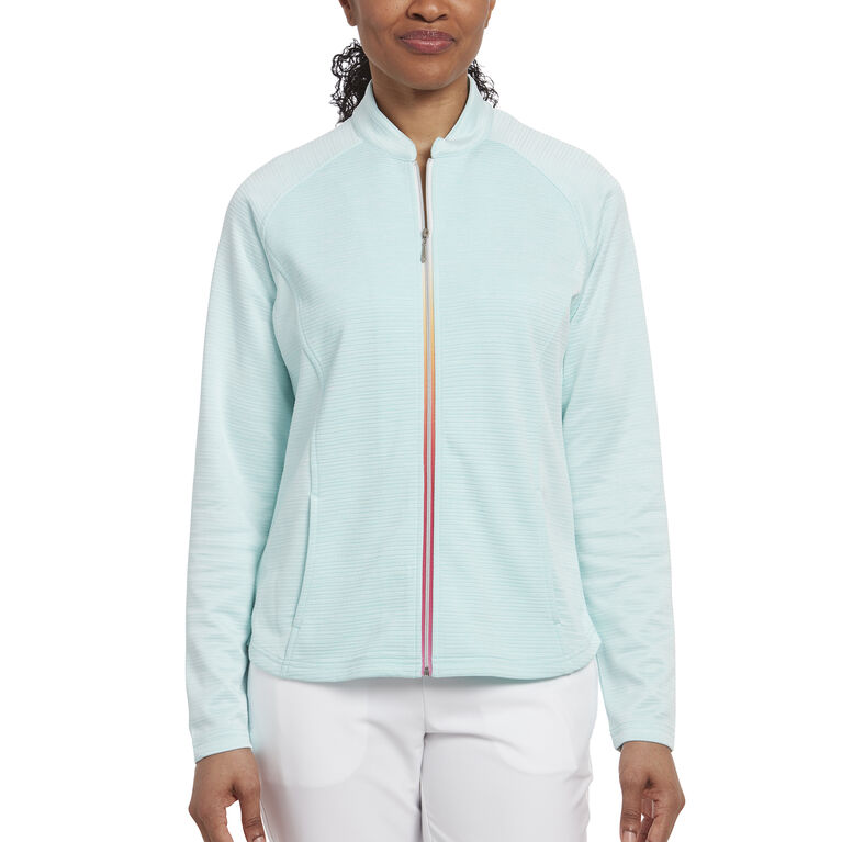 Pink Glo Group: Full Zip Back Insert Jacket