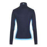 Alternate View 5 of Long Sleeve Contrast Detail Quarter Zip Pull Over