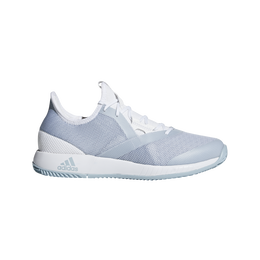 adizero Defiant Bounce Women's Tennis Shoe - White/Grey