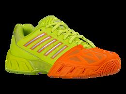 K-Swiss Varsity Bigshot Light 3 Juniors Tennis Shoe - Lime