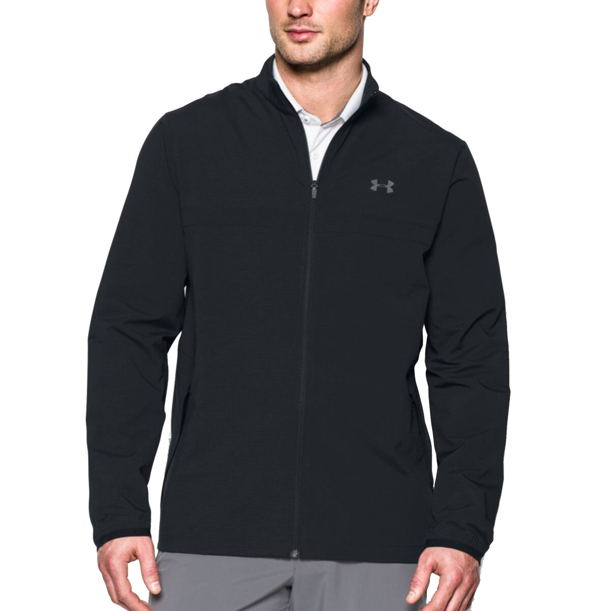 5eefadebd4dbbd Tag Under Armour Mens Storm Windstrike Full Zip Golf Jacket — waldon ...