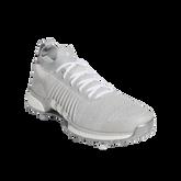 Alternate View 2 of TOUR360 XT Primeknit Men's Golf Shoe - Grey/White