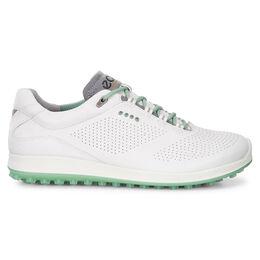 ECCO BIOM Hybrid 2 Perf Women's Golf Shoe - White/Green