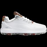 IGNITE PWRADAPT Leather 2.0 Men's Golf Shoe - White/White