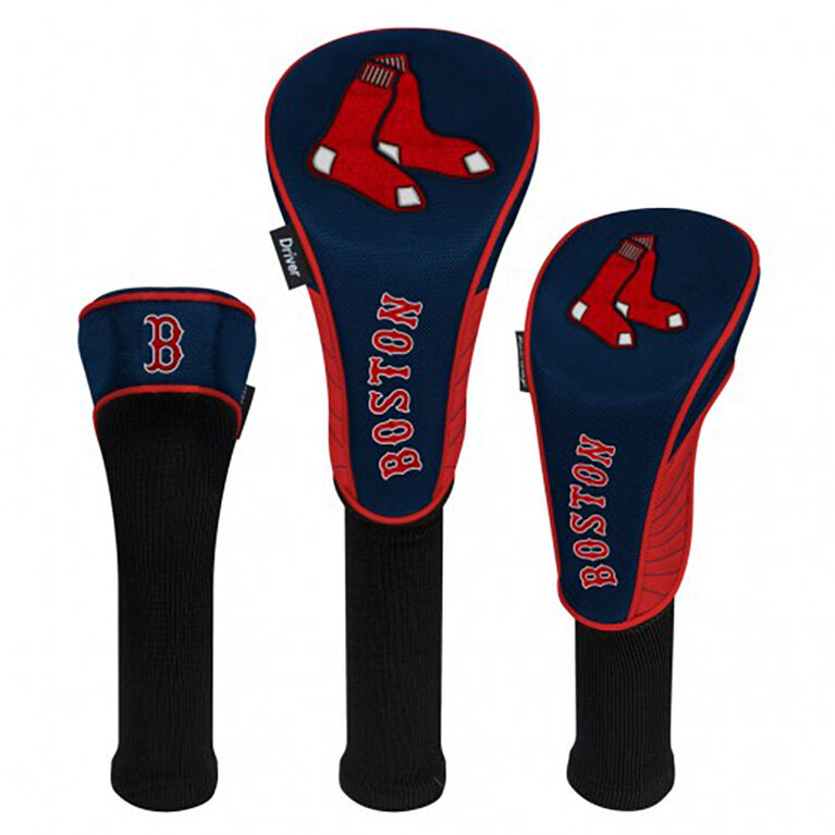 Boston Red Sox Set of 3 Headcovers