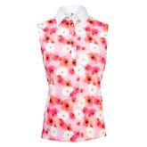 Poppy Group: Tori Blush Sleeveless Polo