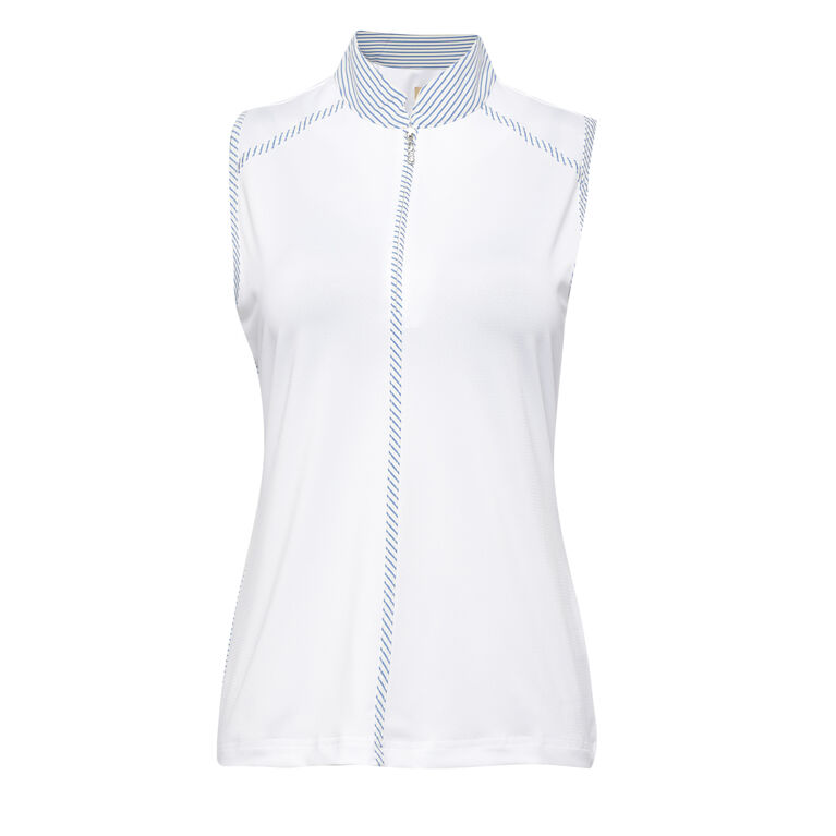 Off The Charts: Laurel Sleeveless Polo