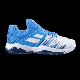 Propulse Fury All Court Men's Tennis Shoe - White/Blue