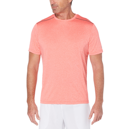 Skeletal Print Short Sleeve Heathered Tee Shirt