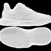 Alternate View 2 of Courtjam Bounce Women's Tennis Shoe - White