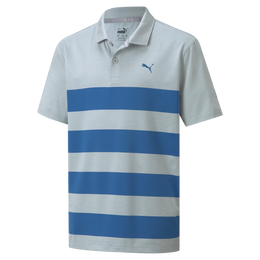 MATTR Kiwi Stripe Polo Boys