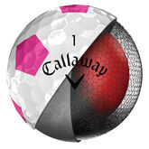 Alternate View 2 of Callaway Chrome Soft Truvis Pink Golf Balls (Prior Generation)