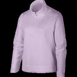 Dri-FIT Big Kids' (Girls') Long-Sleeve 1/4 Zip Pullover