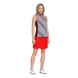 Crimson Chic Group Ariadne Sleeveless Striped Top