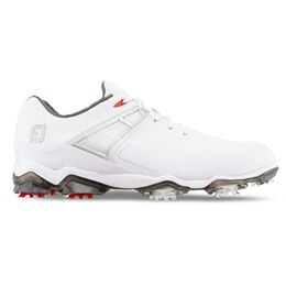 TOUR X Men's Golf Shoe - White/Red