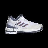 Alternate View 1 of Adizero Ubersonic 3 Men's Tennis Shoe - White/Blue