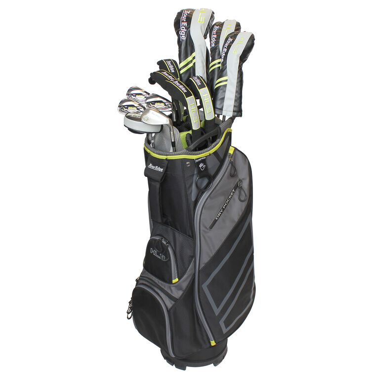Tour Edge Hot Launch 3 Straight Package Set