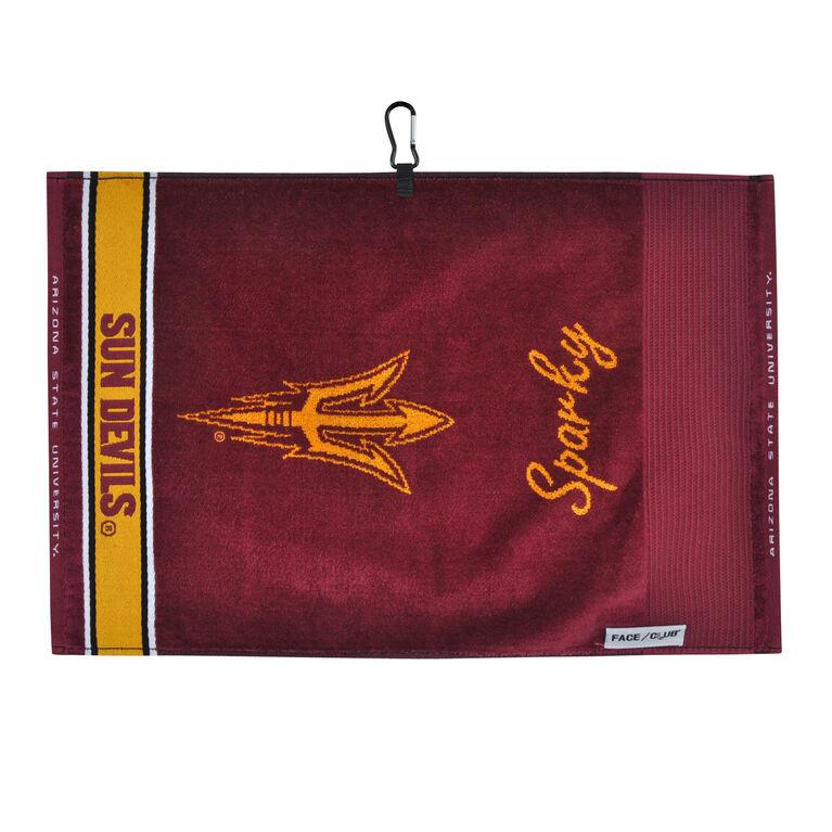 Team Effort Arizona State Face/Club Jacquard Towel