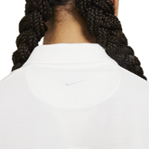 Alternate View 4 of Short Sleeve Cropped Polo Shirt