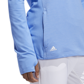 Alternate View 5 of Minted Blues Collection: Half-Zip Solid Pull Over Jacket