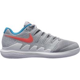 Nike Air Zoom Vapor X Women's Tennis Shoe - Grey/Red