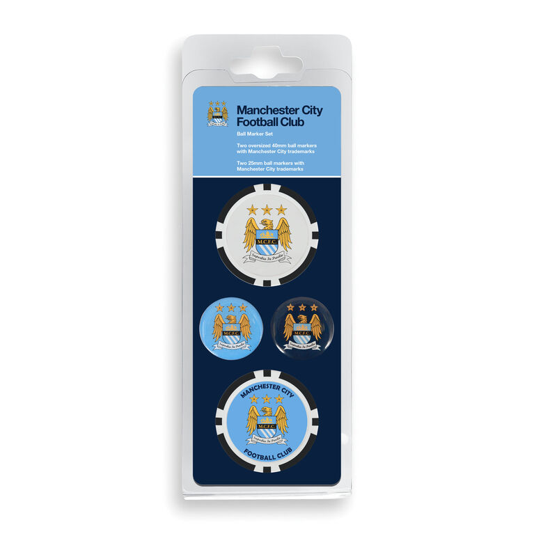 Team Effort Manchester City Ball Marker Set