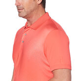 Alternate View 2 of PGA TOUR Gradient Tech Windowpane Texture Print Polo