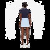 Short Sleeve Leana Lux Pique Polo Back
