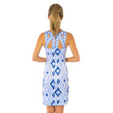 Alternate View 3 of Jersey Isosceles Dress - Kitt Ikat