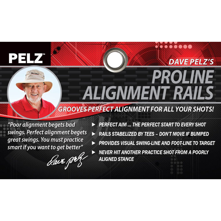 Dave Pelz's Alignment Rails w/ Tees
