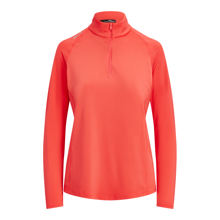 Performance Golf Long Sleeve Quarter Zip Pull Over