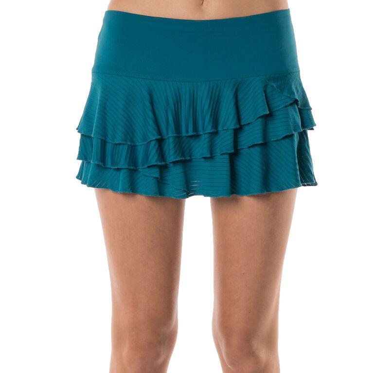 Lucky in Love Shadow Stripe Rally Skirt