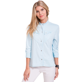 Oasis Collection: Long Sleeve Shirt Jacket