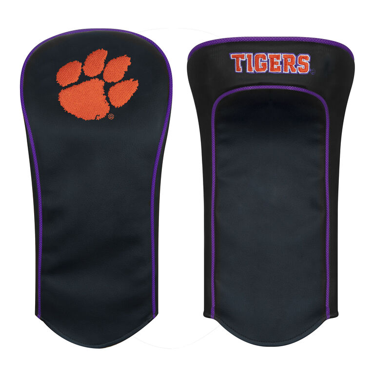 Team Effort Clemson Black Driver Headcover