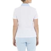 Alternate View 2 of Gelato Collection: Gabi Short Sleeve Stripe Front Polo