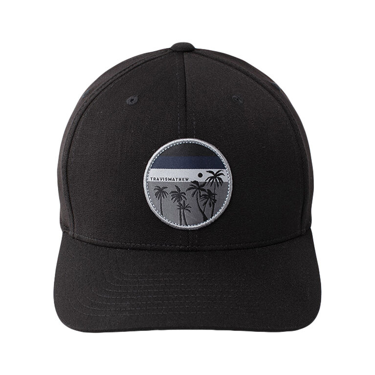 Coconut Water Patch Snap Back Hat