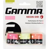 Gamma Neon Dri Grip - 3 Pack