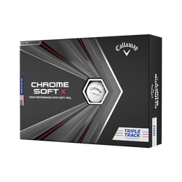 Chrome Soft X Triple Track Buy 3 Get 1 Free Personalization