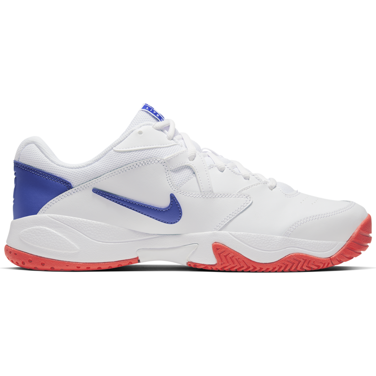 NikeCourt Lite 2 Men's Hard Court Tennis Shoe - White/Royal
