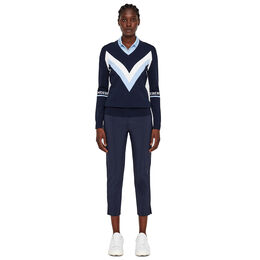 Celine Long Sleeve Zig Zag Sweater