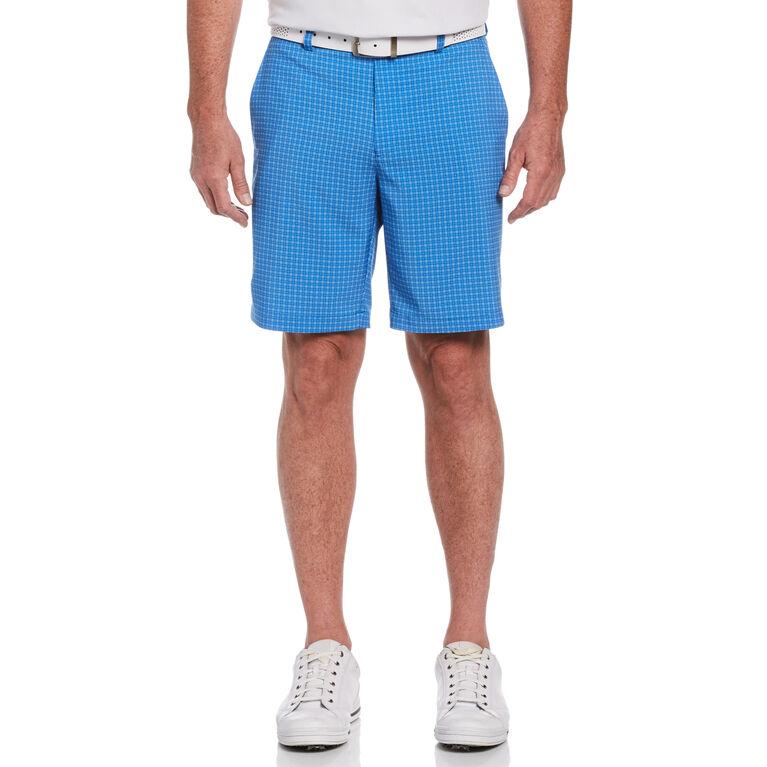 Tonal Plaid Golf Short