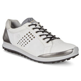 ECCO BIOM Hybrid 2 Men's Golf Shoe - White/Black