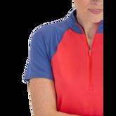 Alternate View 3 of Dixie Group: Short Sleeve Zip Mock
