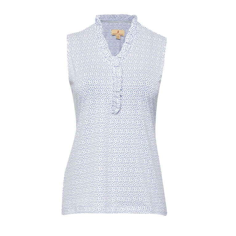Off The Charts: Gwen Sleeveless Polo