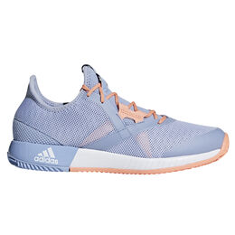 adidas adizero Defiant Bounce Women's Tennis Shoe - Blue/Orange
