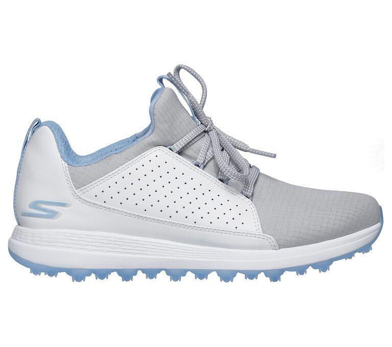 GO GOLF Max Mojo Women's Golf Shoe - White/Grey